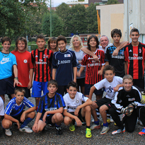 La squadra al completo al primo giorno d'allenamento (2012-2013)