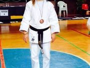 Alessia bronzo ai Nazionali di Judo UISP 2014