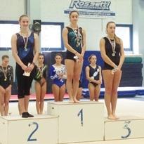 Podio per Aurora nel Campionato Regionale di Categoria Senior GAF nella quale si è classificata in 1° ed è arrivata 3° nella 2a prova del Campionato Regionale. (03/11/2013) Cesena