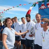 Titolo italiano nel coastal rowing