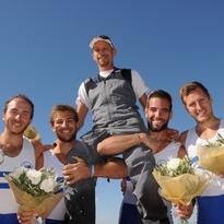 Campioni del mondo ai mondiali di coastal rowing! Salonicco 18 ottobre 2014
