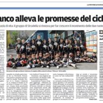 <b>Il Branco alleva le promesse del ciclismo</b><br>  Agonismo e scuola di vita: il gruppo di Stradella si rinnova per far crescere il movimento delle due ruote