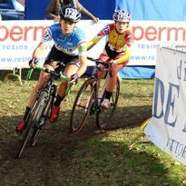 Virginia Cancellieri alla gara Nazionale Ciclocross svoltasi a Vittorio Veneto (Treviso) valevole quale ultima tappa del Trofeo Triveneto e del Circuito Master Cross SMP.