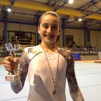 Meritato podio per la giovane Elena