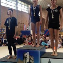 2a prova campionato regionale GpT 3 livello. Diana 1a classificata over 20. Rimini, 15/03/2015