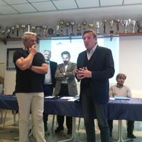 Il Presidente regionale del Coni Giorgio Brandolin socio onorario del Circolo Canottieri Saturnia A.s.d.