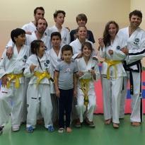 Primo Mese di allenamenti di taekwon-Do Bambini ad Abano Terme
