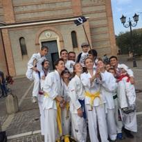 Dimostrazione di Taekwon-Do alla tradizionale Sagra del Rosario a Galzignano Terme