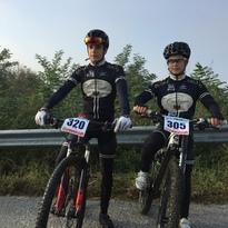 Irene e Andrea D'Amato Campioni Provinciali MTB