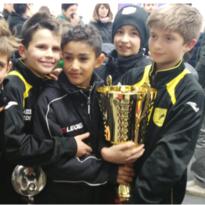 Pulcini finalisti al Torneo di Laives (Bolzano)