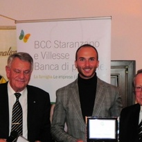 Lorenzo Tedesco premiato dal Panathlon