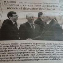 Un fiore all'occhiello per AISE e per l'Italia