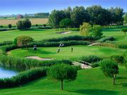Pra' delle Torri - Caorle (VE) - Panoramica percorso golf