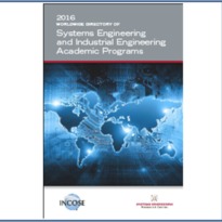 Pubblicata la edizione 2016 della Worldwide Directory of Systems Engineering and Industrial Engineering Academic Programs