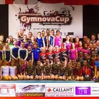 Gymnova Cup – Podio all'esordio internazionale della Fanfulla