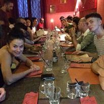 Cena di fine anno e partita Italia Germania
