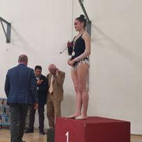 Ritmica: si va ai Nazionali con Silvatico Campionessa Regionale e De Santis sul podio