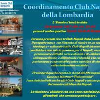 14 febbraio 2014 ore 11.00 nasce a Milano Il Coordinamento Napoli Club Lombardia