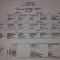 Calendari Prima squadra e Giovanissimi