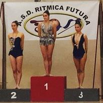 Ritmica: tris di gare, incetta di podi e Letizia Silvatico Campionessa Regionale