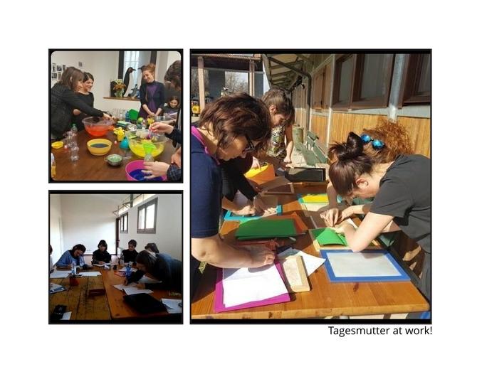 Secondo corso di formazione per diventare Tagesmutter..ma in aula cosa succede?