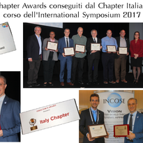 Consegna dei Chapter Awards 2016 all'International Symposium di Adelaide