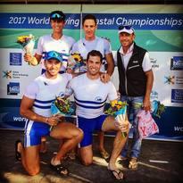 Un ORO, un ARGENTO e un BRONZO ai Mondiali di Coastal Rowing