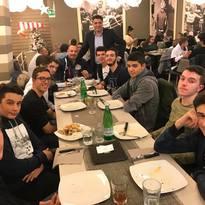 Cena Sociale alla Pizzeria Tourlè