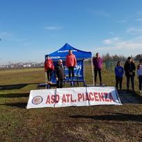 Pioggia di podi per gli atleti del Piacenza Triathlon in prestito all'Atletica il 17 dicembre