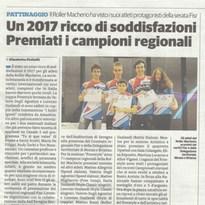 Articolo su Il Cittadino – 20 gennaio 2018 ed. Brianza Sud