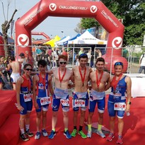 Piacenza Triathlon Vittorino fa il pieno di podi a Riccione