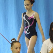 Gaia Gambini e l'Artistica Recanati al Campionato Italiano Gold Allieve