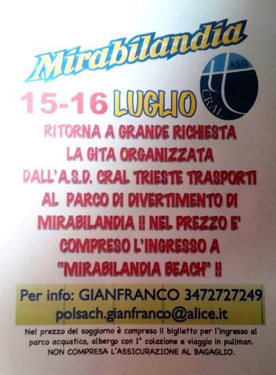 Mirabilandia 15-16 luglio