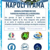 Napoli Ti Ama. Fondazione TOGETHER TO GO