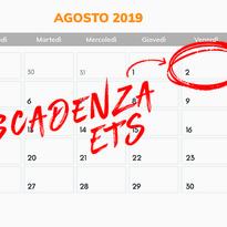 2 AGOSTO 2019: Scadenza per trasformarsi in ETS