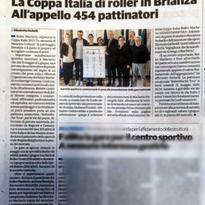 Articolo su Il Cittadino – 25 maggio 2019 ed. Brianza Sud