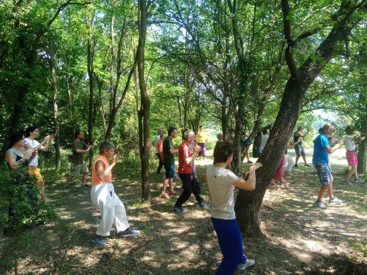Ritiro per il riequilibrio della salute psicofisica con il Zhineng Qigong
