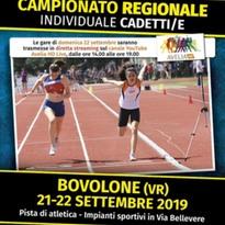 CAMPIONATI REGIONALI CADETTI/E