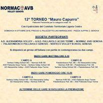 """DOMENICA L'UNDER 16 ECCELLENZA È A GENOVA PER IL TORNEO """"MAURO CAPURRO"""""""