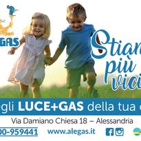 Alegas è la compagnia gas e luce della tua città!