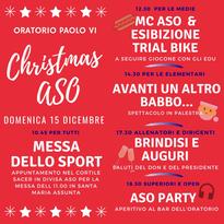 Il programma della festa di Natale 2019