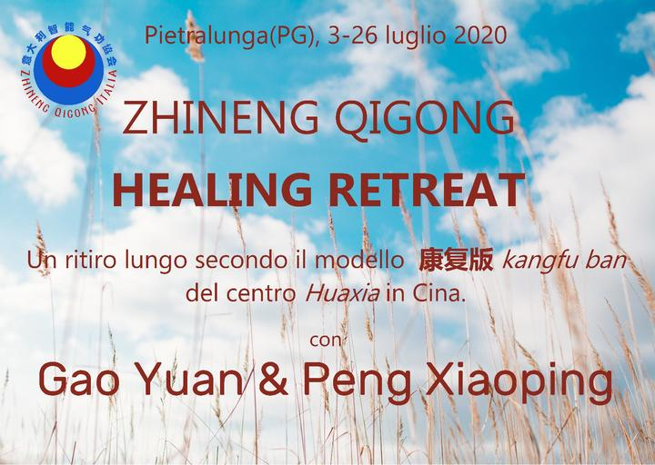 Zhineng Qigong Healing Retreat in Italy July 2020