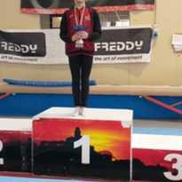 2 titoli regionali e due medaglie d'argento