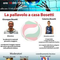 WEBINAR: La pallavolo a casa Bosetti