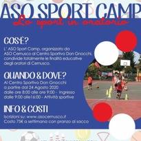 ASO sport camp