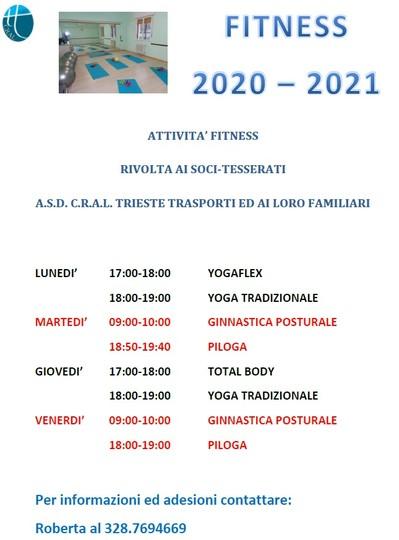 Fitness 2020 – 2021