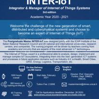 """Terza edizione del Master di II Livello """"INTER-IoT"""" – Iscrizione Aperte"""
