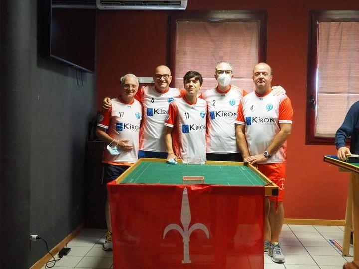Calcio da tavolo, Cral Triestina quarta nella Coppa Triveneto