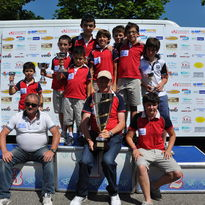 Gara ciclistica riservata alla categoria Giovanissimi a Pessano con Bornago